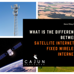 Differences Between Satellite & Fixed Wireless Internet